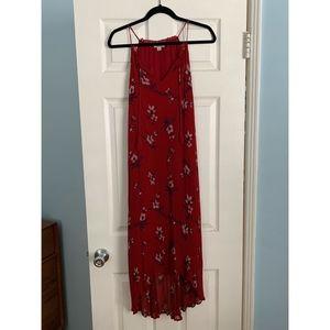 Lucky Brand Midi Floral Slip Dress